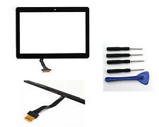 "Black For Samsung Galaxy Tab 10.1"" P7500 P7510 Touch Screen Digitizer Glass NEW"