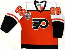 ERIC LINDROS PHILADELPHIA FLYERS CCM AUTHENTIC 1993 ROOKIE YEAR JERSEY 44