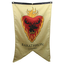 Game of Thrones New * Baratheon Sigil Banner * 30 x 50 Fabric Poster Print