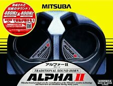 MITSUBA Alpha II MBW-2E17G Green European Sound Car Horn 480Hz / 400Hz F/S Track