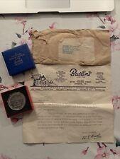 More details for butlin beavers souvenir coronation 1953 coin boxed and original letter rare