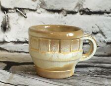 Frankoma Pottery 94C Wagon Wheel 5oz Coffee Cup Mug Desert Gold Art Dinnerware