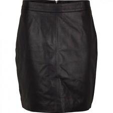 100% genuine Leather Skirt