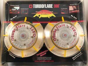 Turboflare 360º Emergency LED Lighting Twin Pack NOS New & Sealed