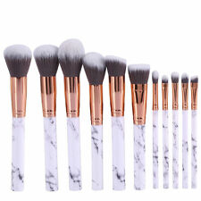 Brush Eyeshadow Lip 10Pcs Makeup Cosmetic Brushes Set Powder Foundation K4-01