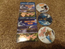 HAPPY FEET THE POLAR EXPRESS A CHRISTMAS STORY TRIPLE FEATURE movie BLU-RAY