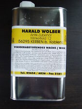 Lackalternative===Flüssigwachs==farblos 0,5 Liter spritzbar- wasserabweisend