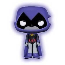 Official Funko Teen Titans Go Pop Television Vinyl Raven GITD Figure 9cm