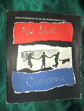 Louis Lo Monaco WE SHALL OVERCOME Prints, March on Washington, Civil Rights, MLK