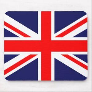 NOVELTY UK UNION JACK BRITAIN UK FLAG MOUSE MAT PAD FOR PC COMPUTER LAPTOP MAC