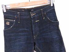 R489 G-Star Pantaloni Jeans 3301 Riley LARGO AFFUSOLATO ORIGINALE Premium Taglia