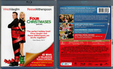 2-Disc Blu-ray+DVD Combo FOUR CHRISTMASES Vince Vaughn Cdn WS SE Region A/B/C