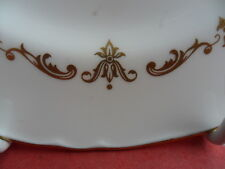 Royal worcester gold chantilly, 2 x assiettes