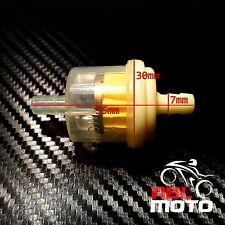 Ein Universal Kraftstofffilter 6mm 8mm Benzinfilter Filter Motorrad Roller Auto