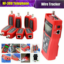 Professional NF-388 Network Cable Multipurpose Tester Tracker Tracer /8 Far-end