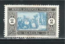 FRANCE COLONIES SENEGAL  AFRICA  STAMPS  MINT HINGED LOT 39821