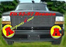 92-94 95-97 1997 Ford F-150 F-250 Bronco Billet Grille