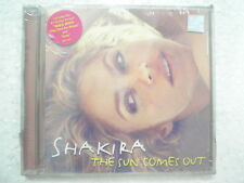 Shakira The Sun Comes Out CD 2010 waka waka loca RARE INDIA HOLOGRAM NEW