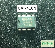 2 PZ ua741cn operazionali ST Microelectronics con Scheda Tecnica ST