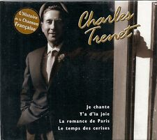 CD COMPIL 14 TITRES DIGIPACK--CHARLES TRENET--LES CHANSONS FRANCAISES