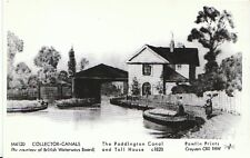 Waterways Postcard - The Paddington Canal and Toll House c1820   U664
