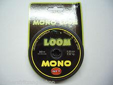 WFT Mono LOOM 200m, 5,30 kg, 0,26mm Selbstleuchtende Angelschnur