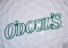 D (1) Odouls Na (Non-Alcohol Brew Green) Beer Logo Golf Ball