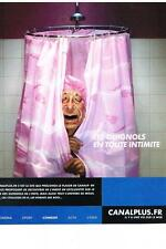 PUBLICITE ADVERTISING  1990  LES GUIGNOLS  JACQUES CHIRAC