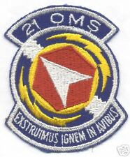 21st OMS patch