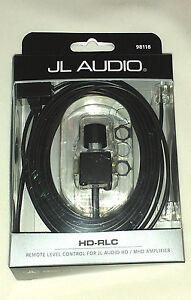 JL AUDIO HD-RLC REMOTE BASS KNOB CONTROL FOR HD MHD CAR AMPLIFIERS NEW