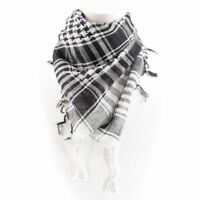 Unisex Woven Arab Check Arafat Shemagh Keffiyeh Scarf in 11 Colours