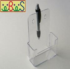 30x DL (1/3 A4) Size Clear Acrylic Single-Pocket Brochure Holders BHS1/3A4