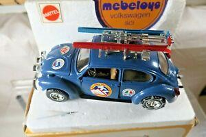 Mattel Mebetoys Ski Vacation Volkswagen Diecast Car w/Box - Italy 1:25 Scale