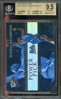 2008 press pass #65 RUSSELL WESTBROOK thunder rookie BGS 9.5 (10 9.5 9.5 9.5)