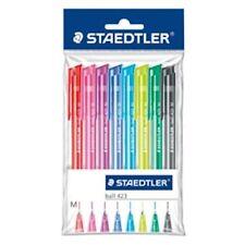 STAEDTLER 423 M - einziehbar Kugelschreiber Set - Regenbogen Farben - Geldbörse