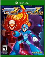 XBOX ONE GAME - MEGA MAN X LEGACY COLLECTION 1+2 BRAND NEW SEALED