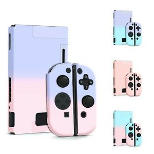 Nintendo Switch Hard Case Cover Pastel Gradient for Console & Joy-Con Controller