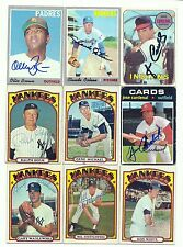 1970 Topps signed OLLIE BROWN #130 Padres deceased