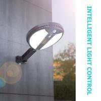70LED Lampe Solaire Extérieur Spots Détecteur de Mouvement Capteur Lumière