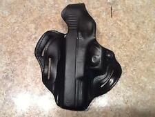 Desantis Pancake Holster 3 slots Glock 37 45 Gap LH Black Leather
