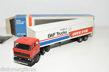LION CAR DAF 2800 TRUCK WITH TRAILER GAZELLE DAF TRUCKS COTE D'OR EXC. BOXED