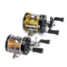 Smooth Power Alumium Spool One Way Cluctch Fishing Reels 1+1 Ball Bearings