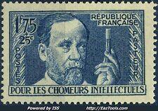 FRANCE AU PROFIT DES CHOMEURS INTELLECTUELS N° 385 NEUF ** SANS CHARNIERE