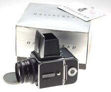 Hasselblad 500 C/M chrome with Zeiss Planar2.8 f=80mm black lens 500CM A16 Back