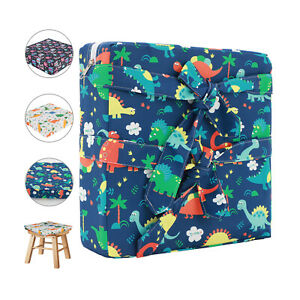 Kids Dining Chair Baby Booster Children Highchair Pad Seat Cushion Removable New