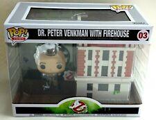 FIGURINE FUNKO POP OVERSIZE figure n° 03 Peter Venkman with Firehouse Neuf