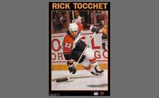 Rare RICK TOCCHET Philadelphia Flyers 1989 Vintage NHL Hockey Starline POSTER