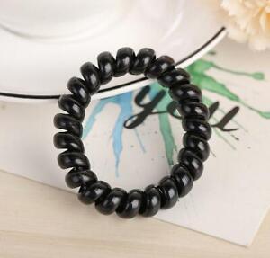 80Pcs Women Hair Ring Rope Ponytail Holder Elastic Candy Telephone Hair Bands