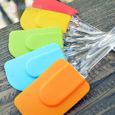 Silicone Pastry Cake Ice Cream Cake Spatula Cooking Scraper Butter Baking Tools