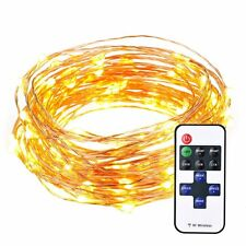 String Lights, Pictek 33ft 100 LED Christmas lights, Outdoor String Lights Fairy